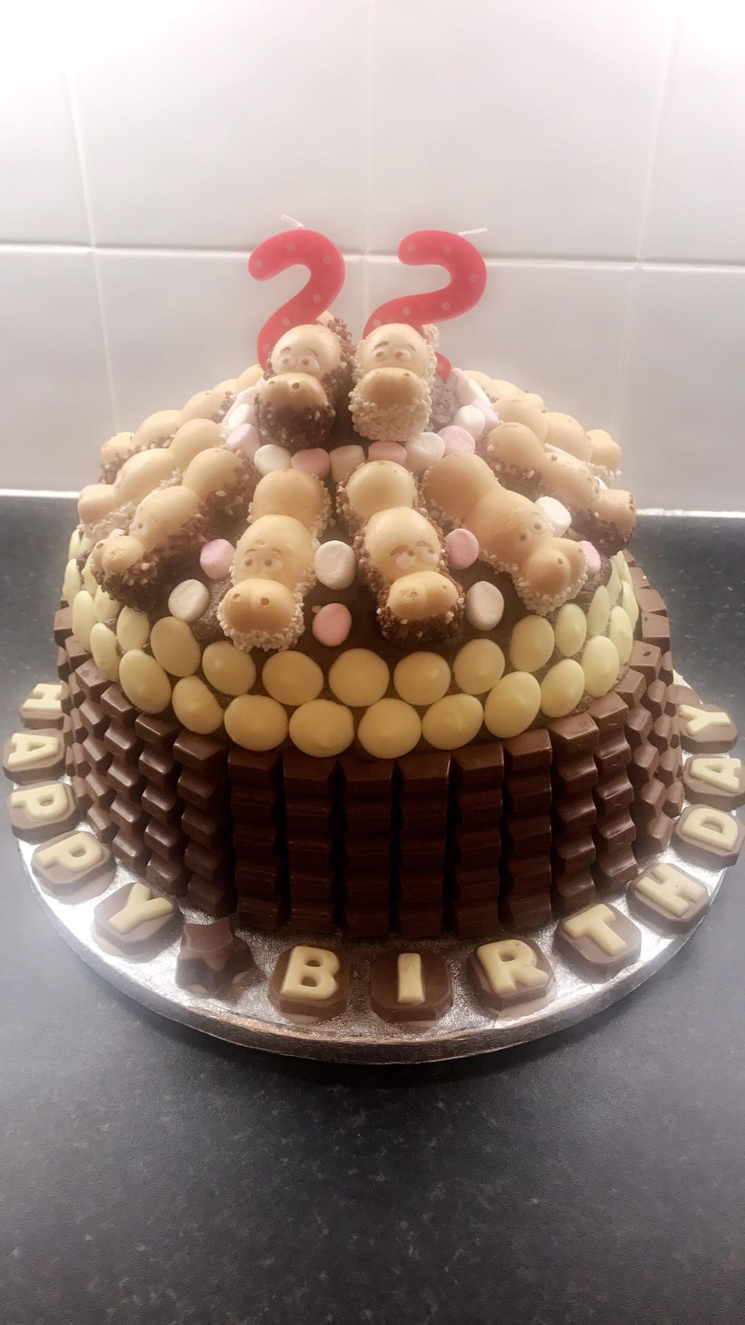 Happy Home Baking Chocolate Cake